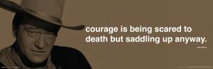 John Wayne Courage film Western Movie Quotes wall arts customized ...