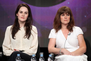 Siobhan Finneran and Michelle Dockery