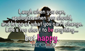 when you can apologize when you should and let go of what you can ...