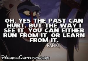 disneyandquotes.tumblr...Tagged as: rafiki,the lion