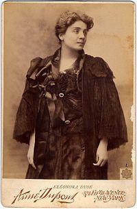 Eleonora Duse, 1896.
