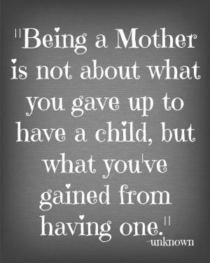 Motherhood Quote 2