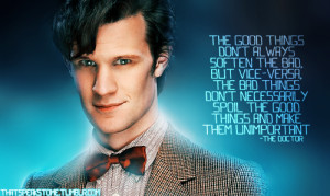 Doctor Who # Eleventh Doctor # Matt Smith # Quotes # Inspirational ...