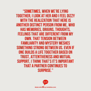 ... Here Is Another Distinct Person From Me,Who Has Memories ~ Love Quote