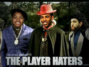 "... their playoff chances: ""Welcome to the Player Hater's Ball"