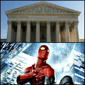 US Supreme Court judge quotes Spider-Man in toy dispute case against ...