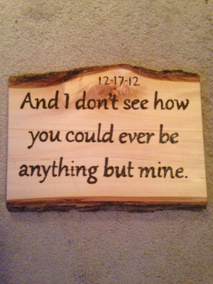Wood burning quote // MADE TO ORDER // love // anniversary // wall ...