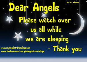 Angels watch over us