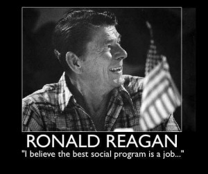 believe the best social program is a job