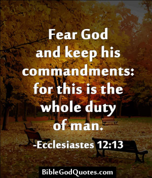 Fear God Quotes