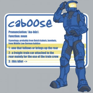 Heres some Caboose : My three Fav RvB characters are sarge, caboose ...