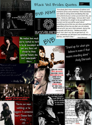 Black Veil Brides Quotes