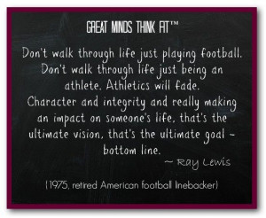 Famous #Football #Quote by Ray Lewis