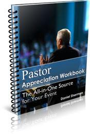 Pastor Appreciation Workbook