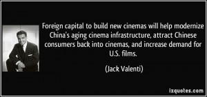 Foreign capital to build new cinemas will help modernize China's aging ...