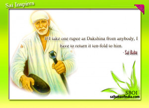Sai Inspires - Sai Baba quotes & Sayings