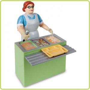 DISCONTINUED - Action Figure - Lunch Lady