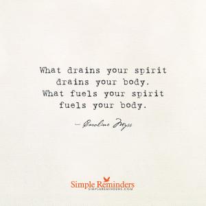 ... caroline myss what drains your spirit drains your body by caroline