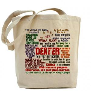 ... Favorite Serial Killer Bags & Totes > Best Dexter Quotes Tote Bag
