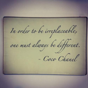 Famous, wise, quotes, sayings, coco chanel