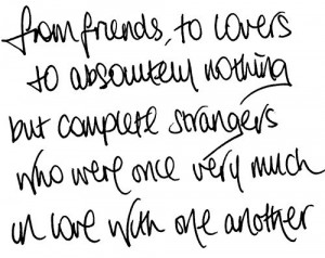 Complicated Friends Quotes