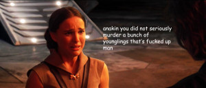star wars Obi Wan kenobi Anakin Skywalker padme amidala I CRACK MYSELF ...