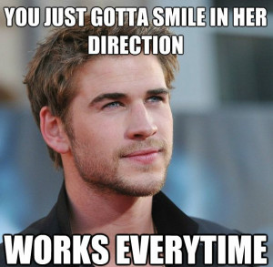 Liam Hemsworth Stars In The New Attractive Guy Dating Tips Meme