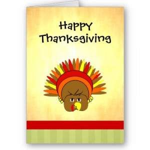 cute_turkey_happy_thanksgiving_greeting_card-p137728929945112323bfjn0 ...