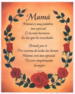 Related Searches for mothers day poem in spanish