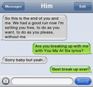 Best breakup ever