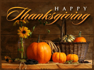 Happy Thanksgiving to all our Friends!