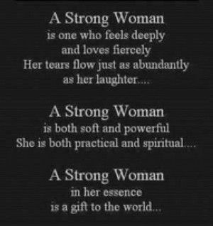 Strong Woman