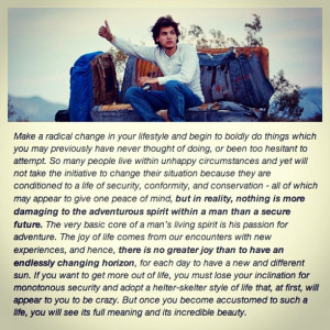 Quotes, Inspiration, Into The Wild Quotes, Intothewild, Into The Wild ...