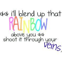 Rainbow Veins - Owl City