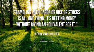 Casino Sayings