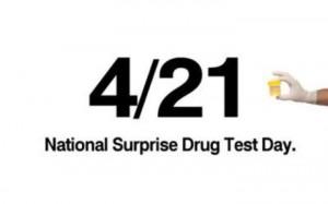 421 national surprise drug test day