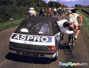 More Funny Road Cycling