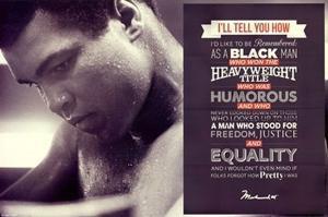 Muhammad Ali - Quote Poster Print (36 x 24)