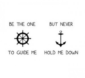Anchor love quote