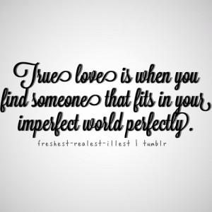 Love Perfect Quote Image Favim