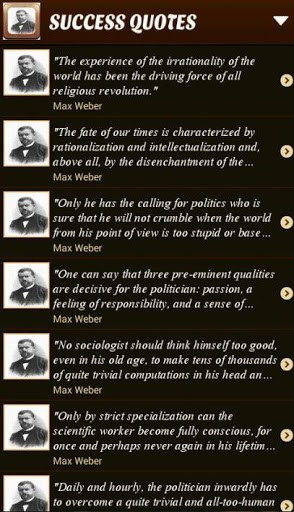 Max Weber Sociology Quotes