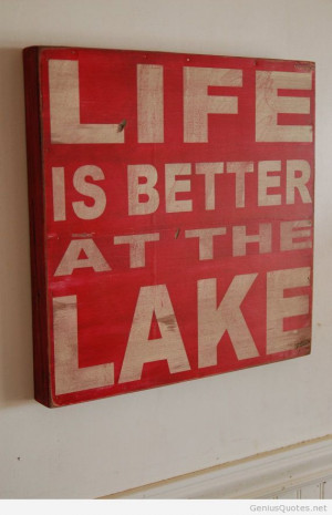Lake wall quote for summer 2014