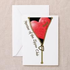 Zipper Design 2 Greeting Cards (Pk of 20) for