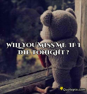 If I Die Tonight Quotes