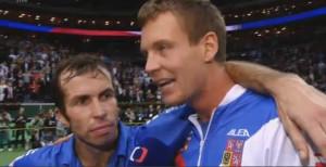 Czech Republic beats Spain and wins Davis Cup 2012