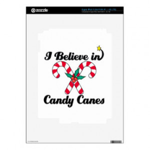 believe in candy canes skin for iPad 3