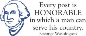 george washington famous quotes