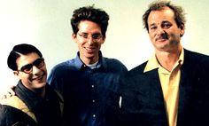 Wes Anderson, Jason Schwartzman, and Bill Murray. 3 delightful people ...