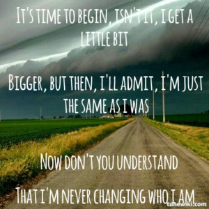 Imagine dragons Its Time quote lyrics