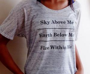 ... Skyrim Tattoo, Woman Shirts, Skyrim Quotes, Skyrim Women, Fire Colors